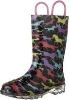 Western Chief Horse Dream Lighted Waterproof Rain Boot