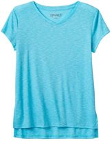 Mudd Girls 7-16 High-Low V-Neck Tee