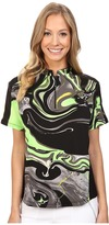 Jamie Sadock Galaxy Print Short Sleeve Top