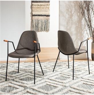 Safavieh Tanner Mid Century Dining Chair (Set Of 2)