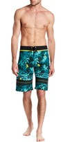 Burnside Palm Tree Board Short