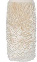Jil Sander Fauna Textured Skirt