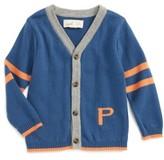 Infant Boy's Peek Varsity Stripe Cardigan