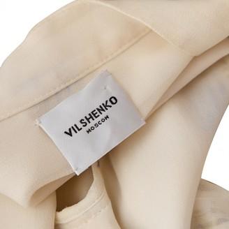 Vilshenko Ecru Viscose Dresses