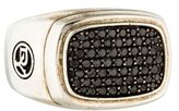 David Yurman Black Diamond Pavé Signet Ring