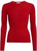 Michael Kors Ribbed Cashmere Knit Crewneck Sweater