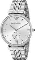 Emporio Armani Men's Classic AR1819 Stainless-Steel Quartz Watch