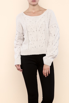 Free People Chunky Cropped Sweater