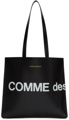 Comme des Garcons Wallets Black Huge Logo Tote