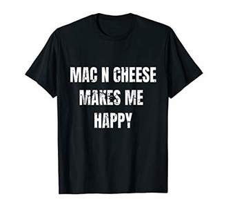 M·A·C Food Mac N Cheese Makes Me Happy Vintage Distressed t-shirt