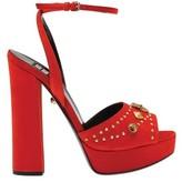 Fausto Puglisi Women's Open Toe Suede Platform Sandal