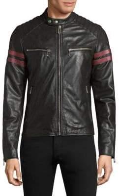 Belstaff Thurlstone Tiger Leather Jacket