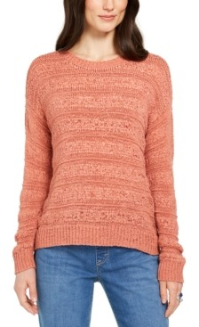 Style&Co. Style & Co Petite Tape-Yarn Pullover Sweater, Created for Macy's
