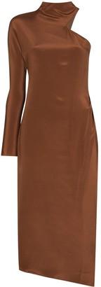 REJINA PYO Ola one shoulder asymmetric dress