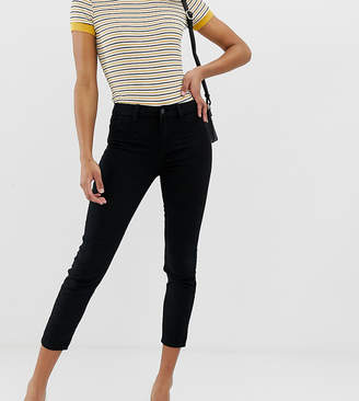 New Look straight leg skinny jeans in black