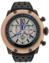 Glam Rock Black Race Track Chronograph 50mm Watch