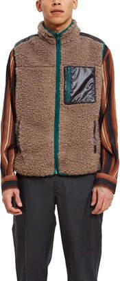 Phanes Front Zip Sherpa Vest