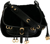 Prada embellished rings crossbody bag - women - Calf Leather/Velvet - One Size