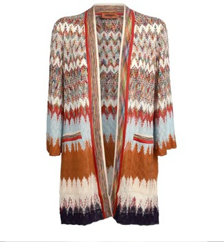 Missoni Stripe Open-Front Cardigan