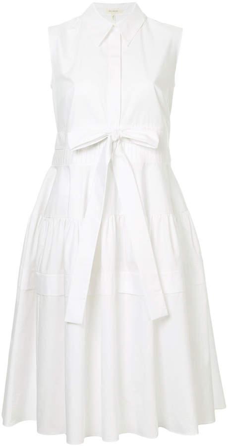 DELPOZO belted shirt dress