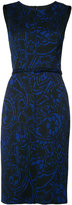 Oscar de la Renta sleeveless pencil dress - women - Nylon/Polyester - 4
