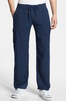 Mens White Linen Trousers Shopstyle Uk