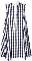 Thom Browne Gingham Oversized Circle Shirtdress