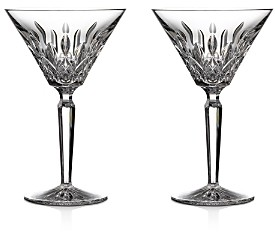 Waterford Lismore Martini Glass, Set of 2
