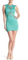 Dress the Population Ivy Sheer Cutout Minidress