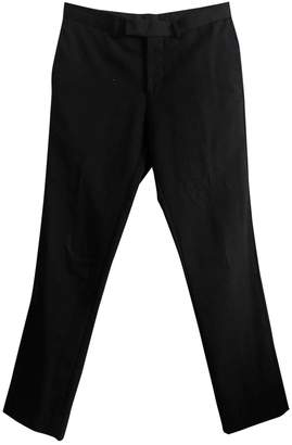 Sandro Black Wool Trousers