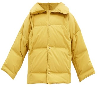 Bottega Veneta Frosted Cotton-poplin Down Jacket - Yellow