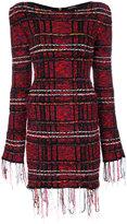 Balmain - tweed mini dress