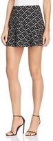 Aqua Jacquard Skirt