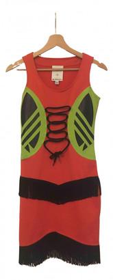 Jeremy Scott Red Polyester Dresses
