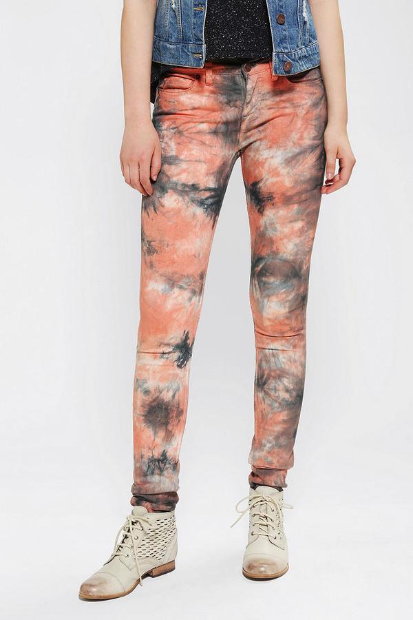 BDG Twig Mid-Rise Jean - Tie-Dye