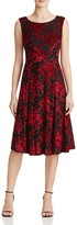 Betsey Johnson Burnout Velvet Dress