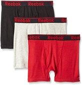 Reebok Men's 3 Pack Cotton Boxer Brief
