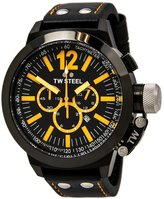 TW Steel Men's CE1030 CEO Canteen Leather Chronograph Dial Watch