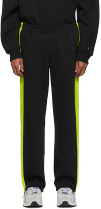 Ader Error Black Puma Edition T7 Overlay Lounge Pants