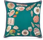 Cjw Italian food cushion