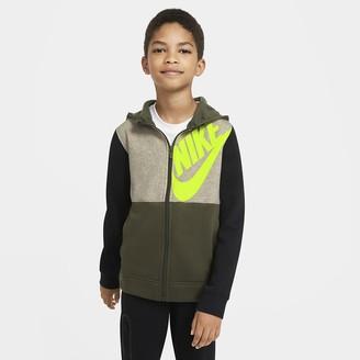 Nike Big Kids' (Boys') Full-Zip Hoodie Sportswear