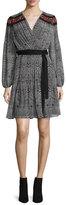 Diane von Furstenberg Bianka Long-Sleeve Wrap Dress, Cabriole Dot
