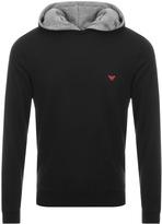 Giorgio Armani Emporio Loungewear Hoodie Black