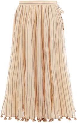 Zimmermann Suraya Draw Flare Skirt