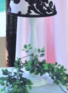 "Blueberrie Kids Paris 15"" Table Lamp"