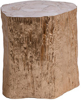 Artistica Trunk Segment Side Table - Gold Leaf