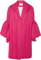 DELPOZO Linen Coat - Fuchsia