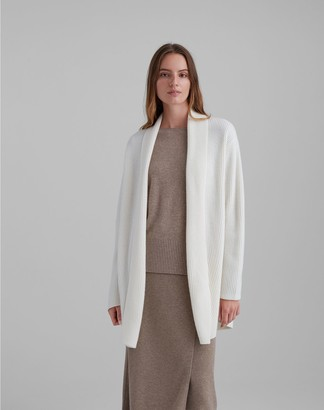 Club Monaco Ribbed Midi Cardigan