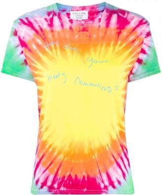 Collina Strada tie-dye print T-shirt
