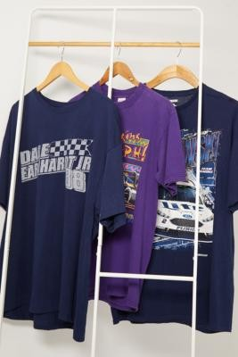 Urban Renewal Vintage Nascar T-shirt - Black ALL at Urban Outfitters